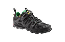 Mavic Alpine Schuhe Men black/athletic green x